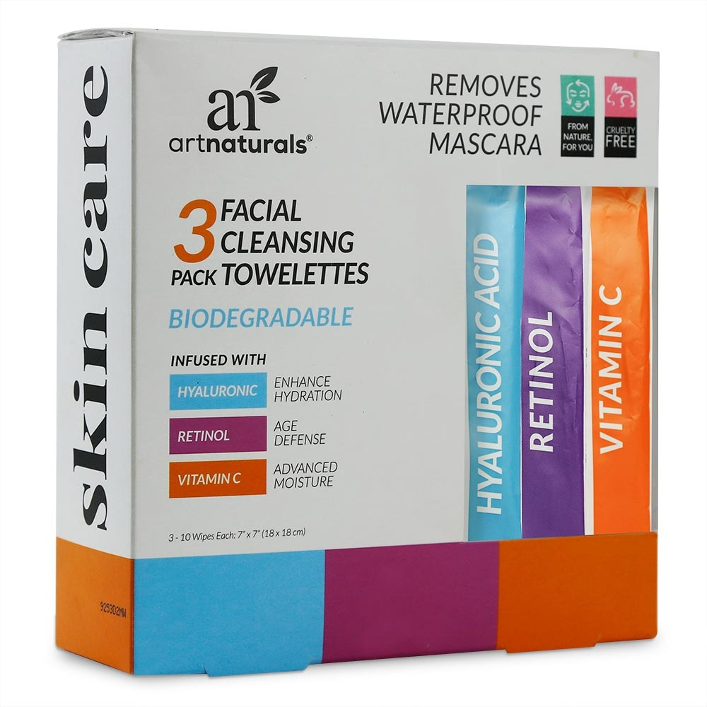 3-Pack Fresh Face Wipes