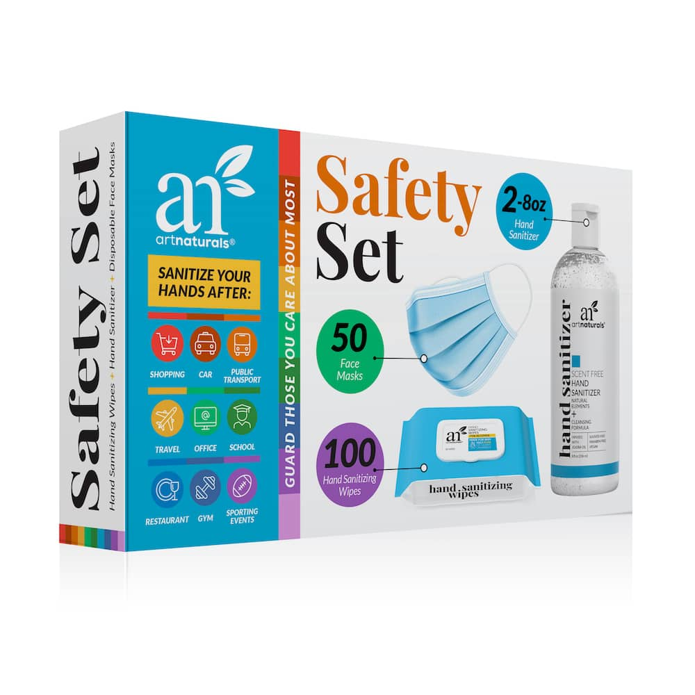 Artnaturals Safety Set - Personal Protection Kit