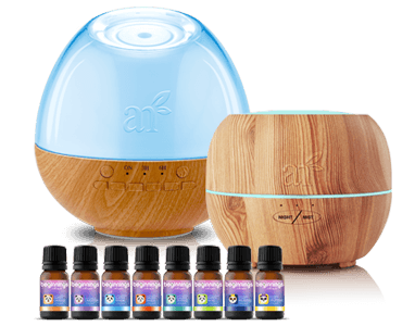 Sound Machine Oil Diffuser With Top 8 Baby & Mama Oils + Free Diffuser