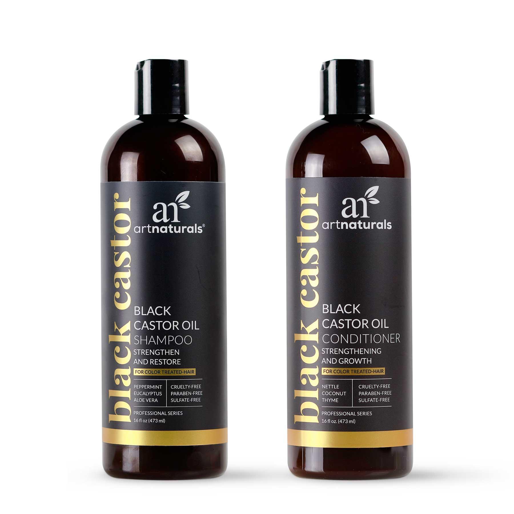 Black Castor Oil Shampoo & Conditioner