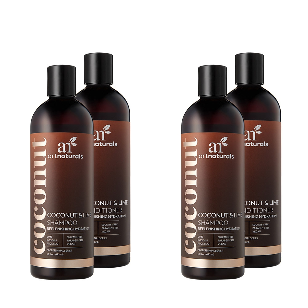 Coconut & Lime Shampoo & Conditioner Duo - Buy One Get One Free