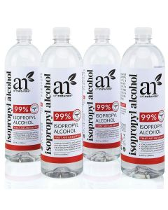 Isopropyl alcohol 99% pure - 4 pack -33.8oz - 1 gallon
