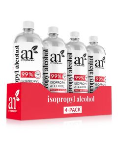 Isopropyl Alcohol 99% Pure - 4 pack - 33.8oz - each bottle