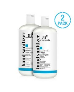 Hand sanitizer scent free - 2 pack
