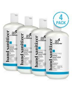 artnaturals® Hand sanitizer scent free - 4 pack
