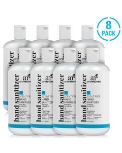 Hand sanitizer scent free - 8 pack