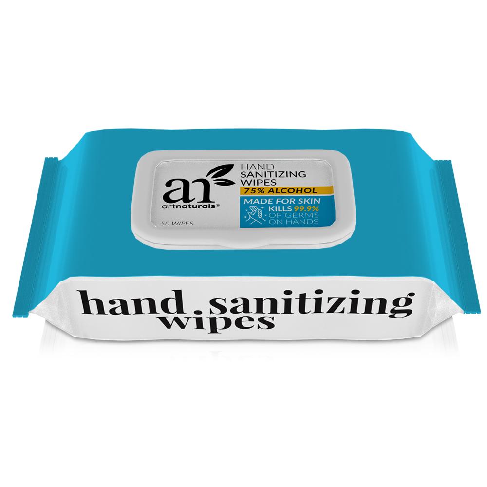 Hand Sanitizing Wipes 2 packs of 50 units
