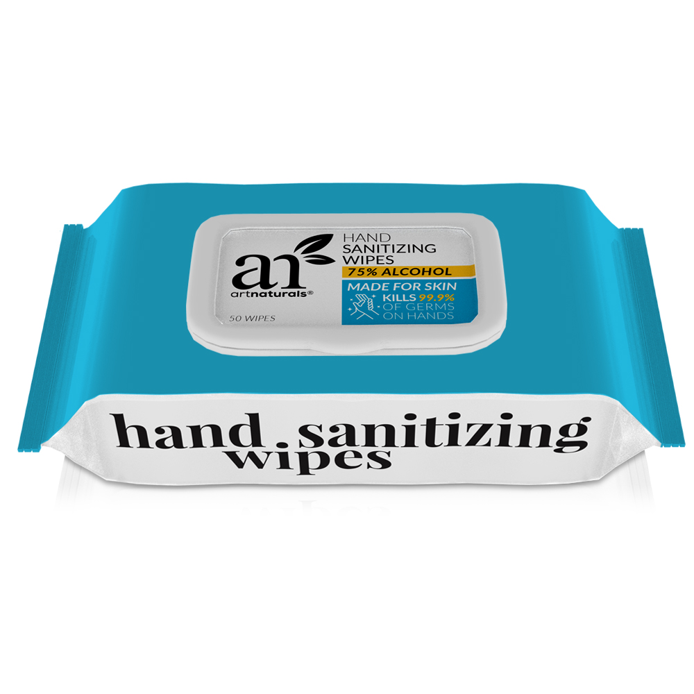 Hand Sanitizing Wipes 7 packs of 50 units