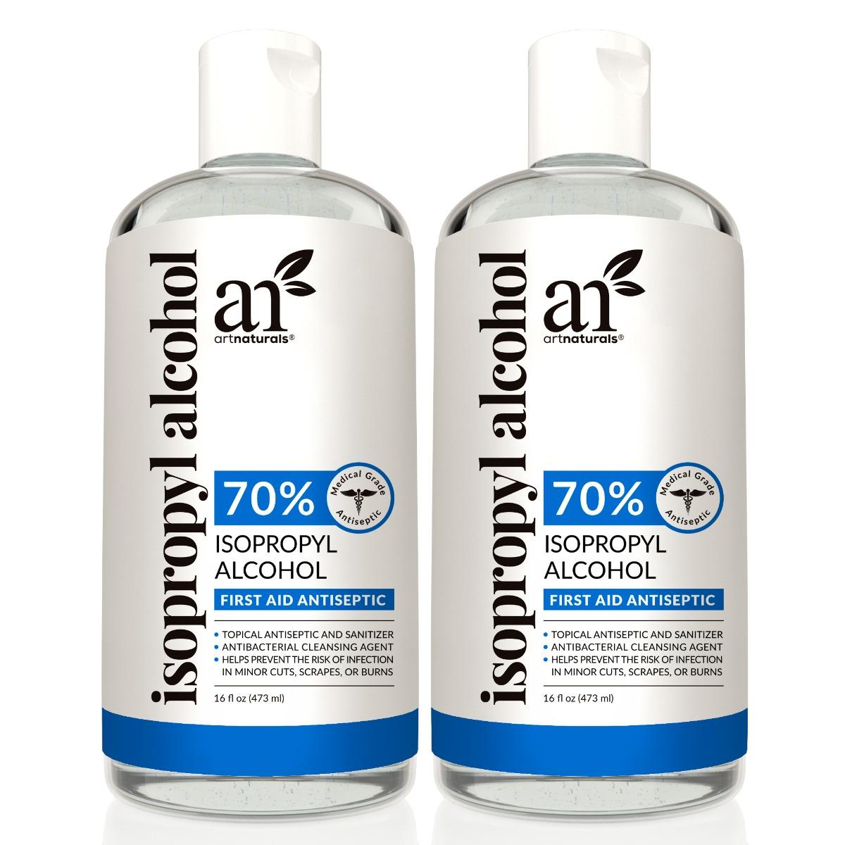 Isopropyl Alcohol - 70% Pure - 2 Pack - 16 Fl Oz - 473ml