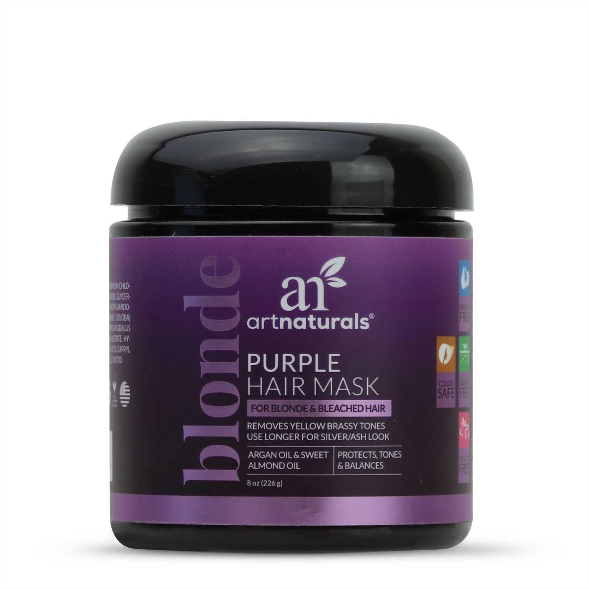 Purple Hair Mask