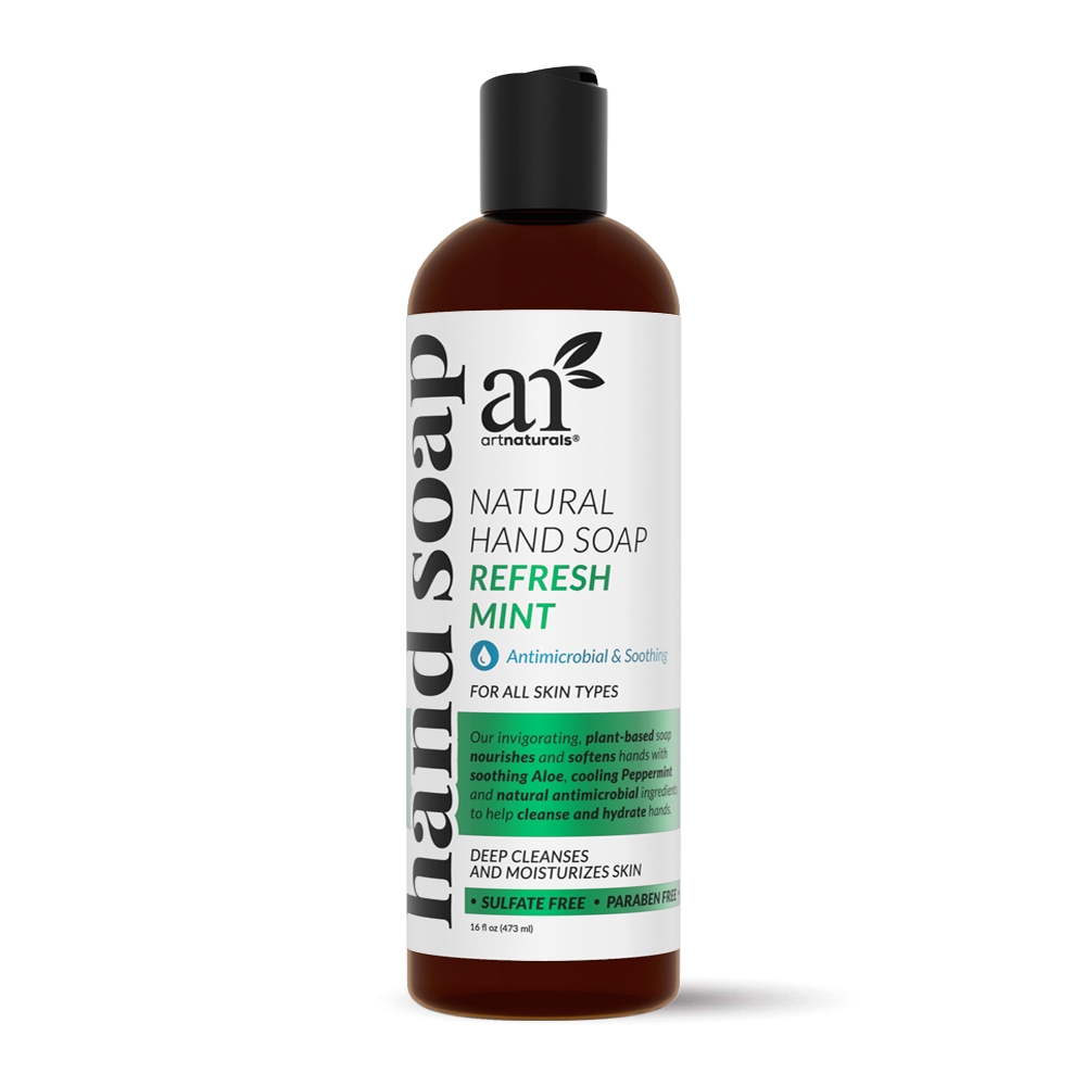 Refresh Mint Natural Hand Soap