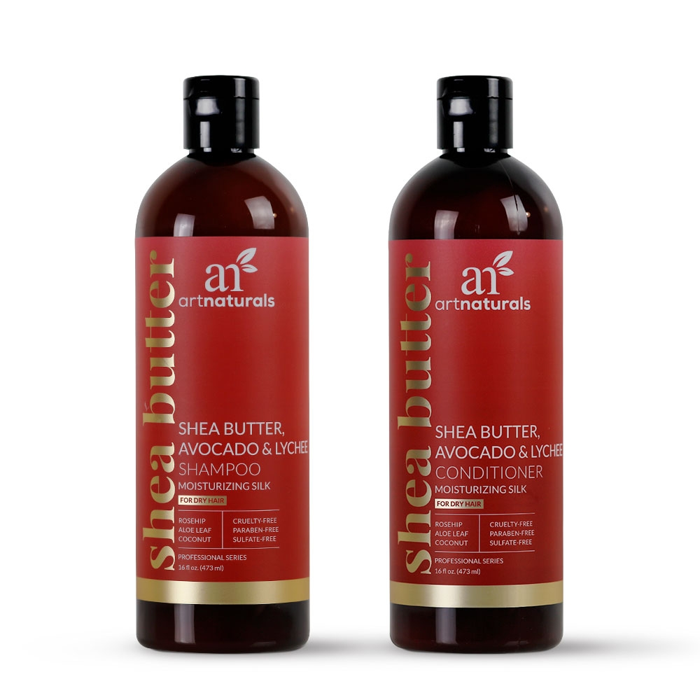 Shea Butter Avocado Shampoo & Conditioner Duo - Buy One Get One Free