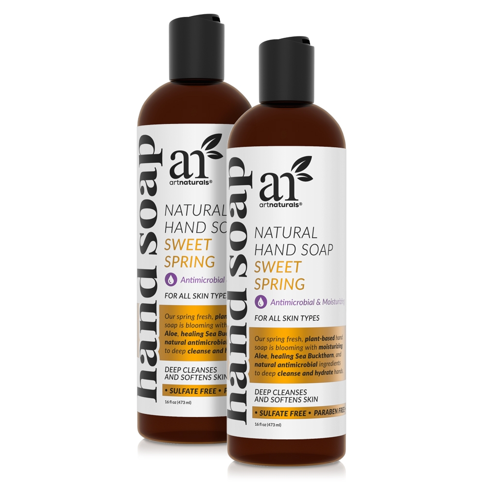 Sweet Spring Natural Hand Soap 2 Pack