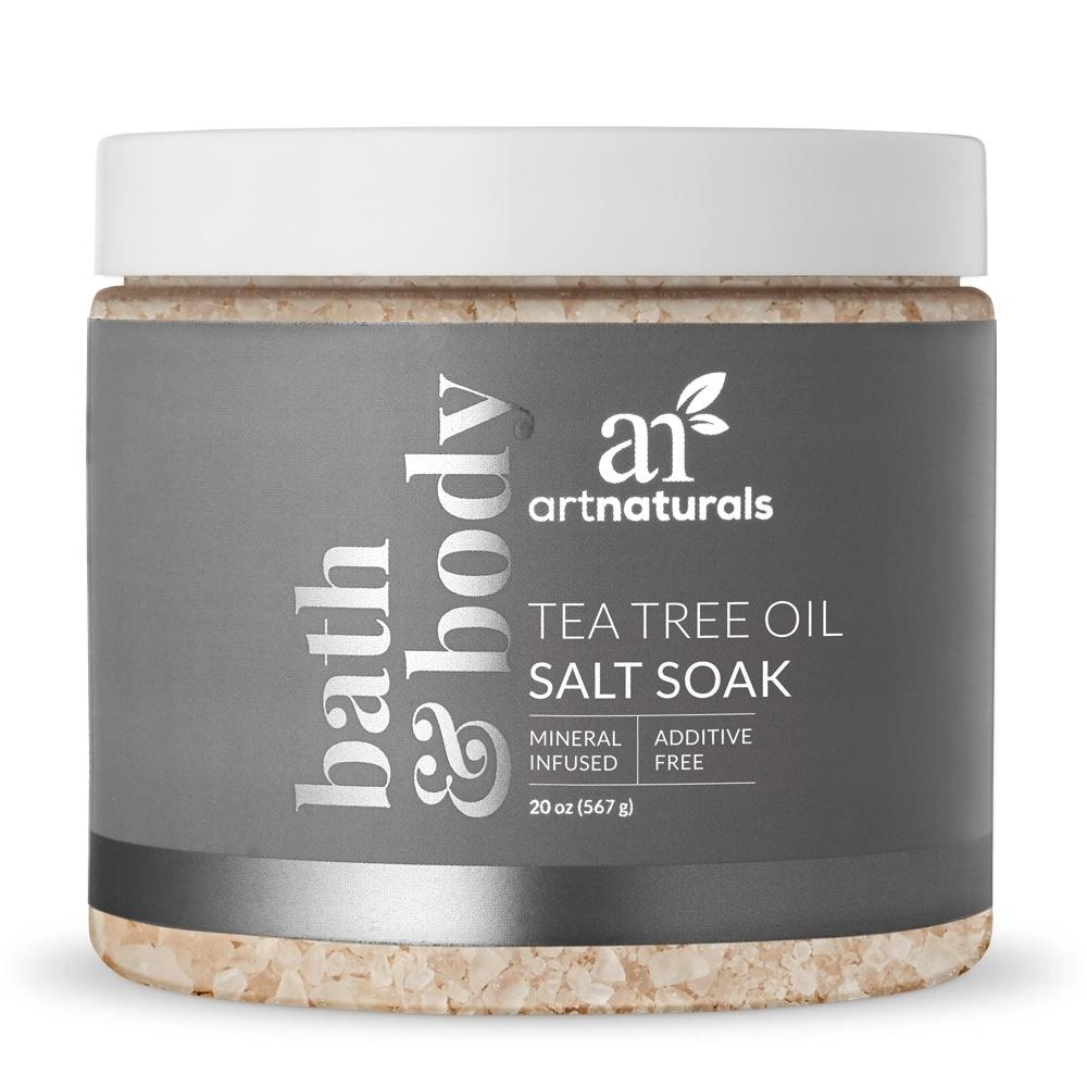 Tea Tree Oil Salt Soak