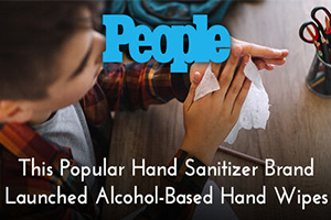 This Popular Hand Sanitizer Brand Launched Alcohol-Based Hand Wipes