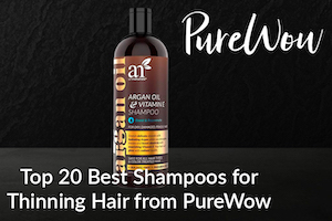 Top 20 Best Shampoos for Thinning Hair from PureWow