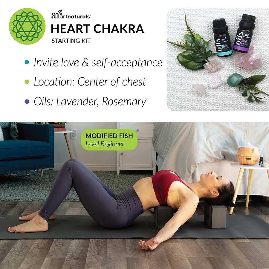 heart chakra starting kit