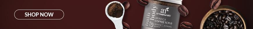 Shop Now Arabica Coffee Scrub