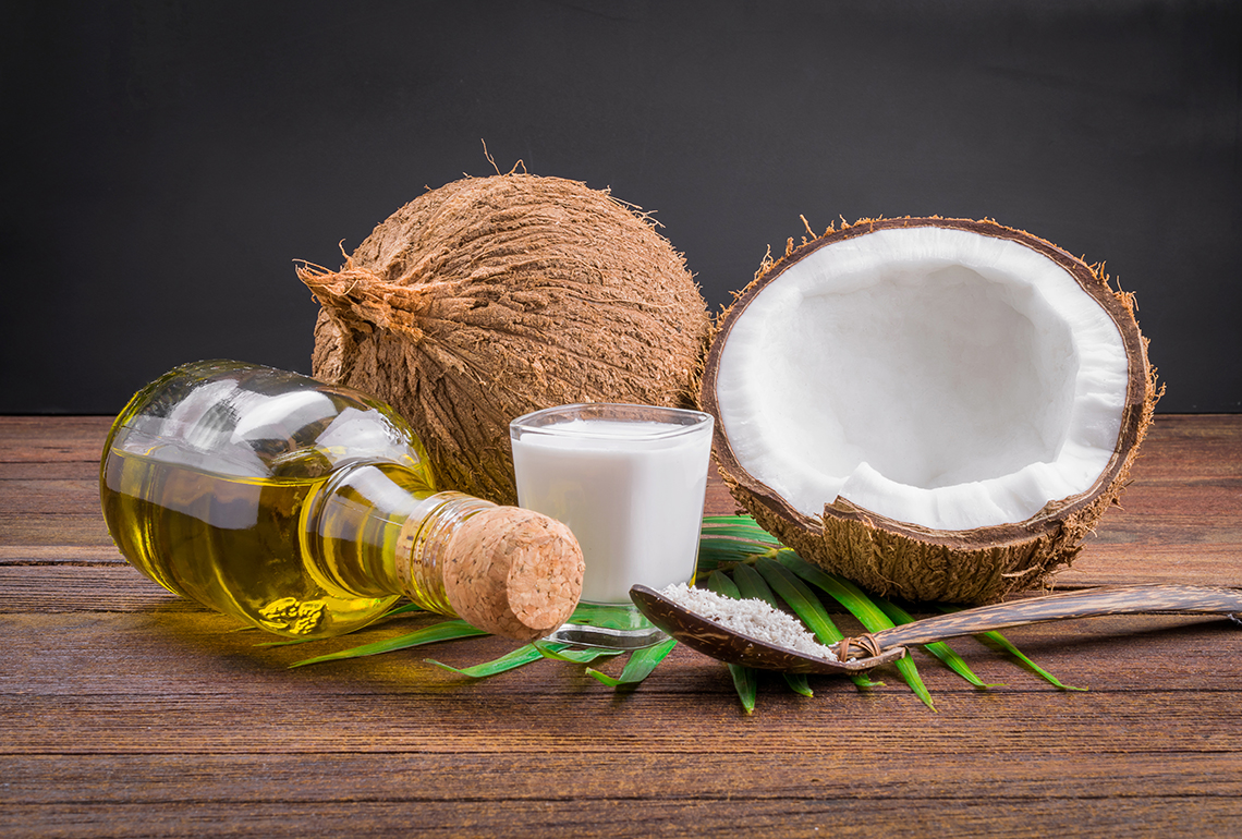 how to fix dry mascara with coconut oil
